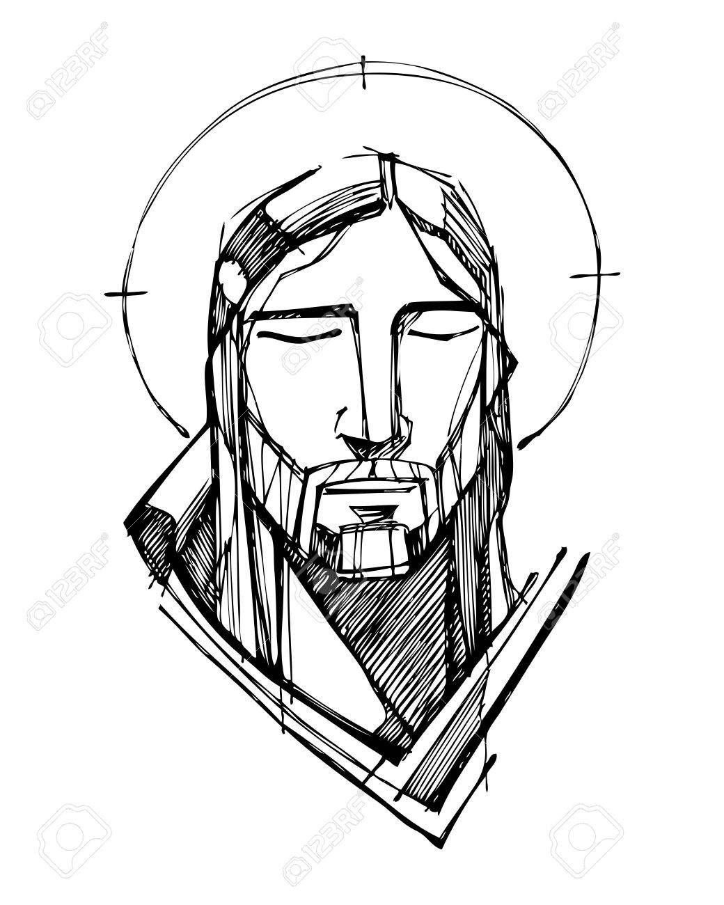1040x1300 stock photo in jesus sketches jesus christ drawing, jesus