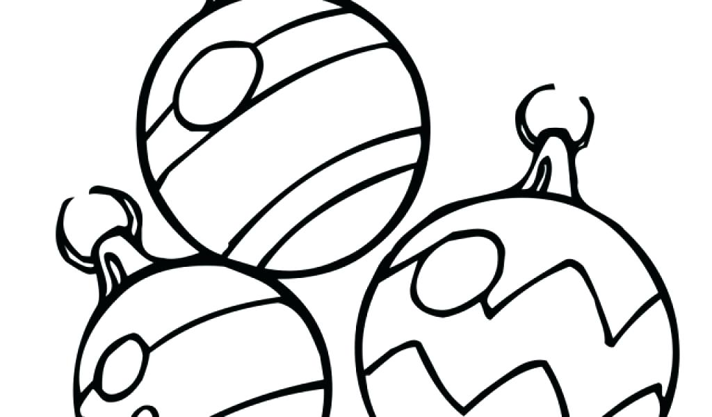 1024x600 coloring pages of christmas ornaments holiday ornaments coloring