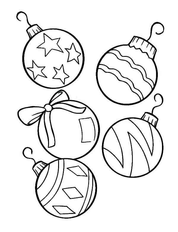 600x783 christmas ornament coloring sheet christmas ornament coloring