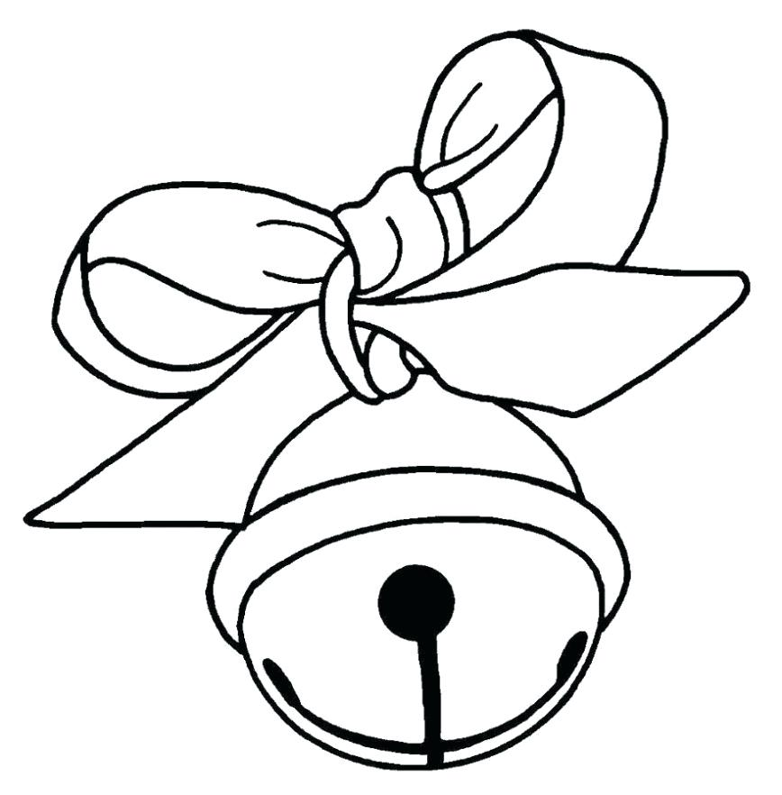 868x882 christmas bell coloring pages bell coloring pages printable bells