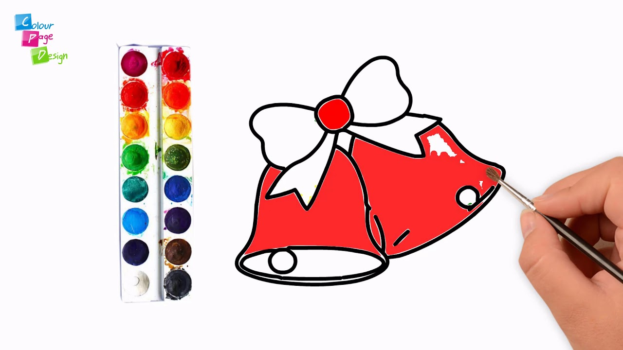 1280x720 how to draw christmas bells easy!how to draw christmas bells