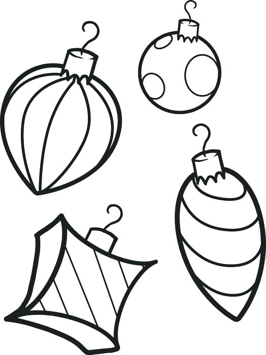 524x700 coloring pages christmas ornaments coloring pages ornaments