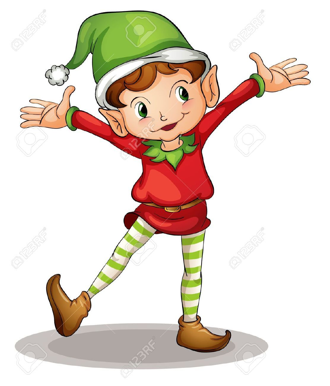 1112x1300 illustration of a christmas elf christmas elves christmas elf