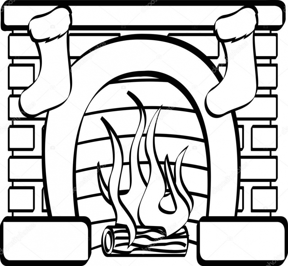 Incredible Christmas Fireplace Drawing Free Download Best Christmas Download Free Architecture Designs Rallybritishbridgeorg