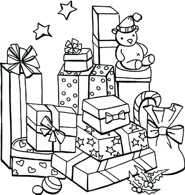 Christmas Gift Drawing | Free download best Christmas Gift ...
