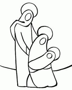 Christmas Nativity Drawings