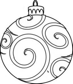 236x274 christmas ornament clip art black and white christmas ornament