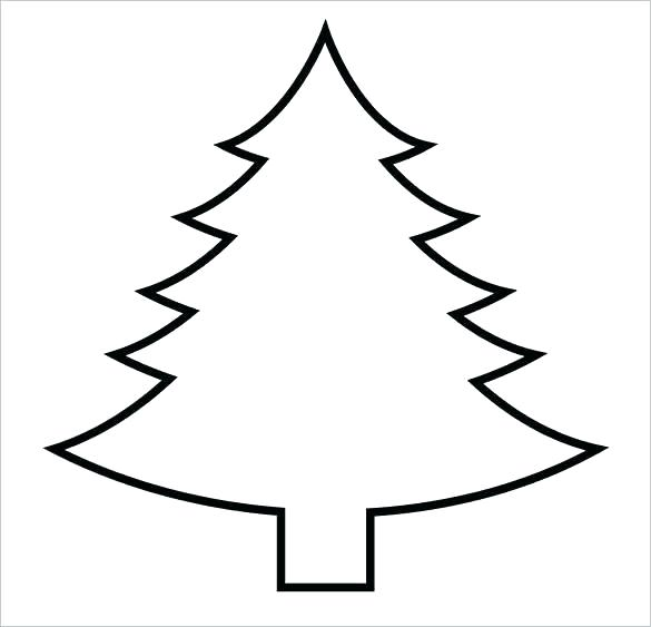 585x563 line drawing christmas tree drawn tree christmas tree line drawing
