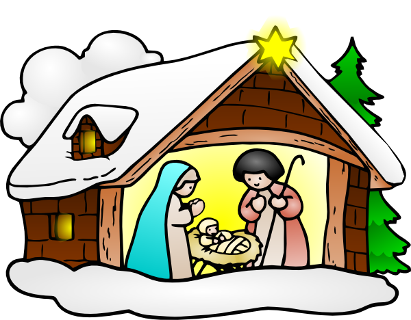 Christmas Stable Drawing.Christmas Stable Drawing Free Download Best Christmas