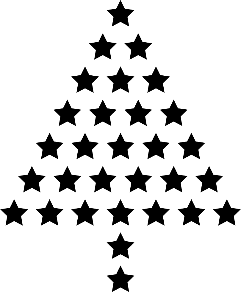 810x980 Collection Of Free Stars Drawing Tree Download On Ui Ex