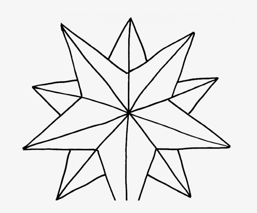 820x680 Star Christmas Coloring Pages Pictures A Nice Christmas