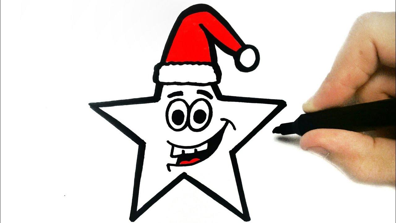 1280x720 Como Desenhar Uma Estrela De Natal