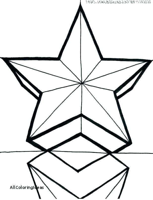 618x810 Christmas Star Coloring