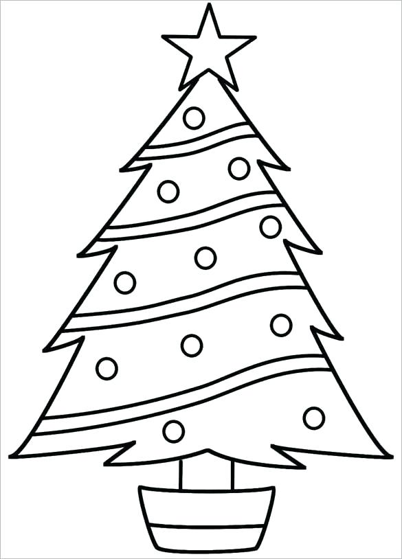 585x814 christmas tree drawing tree drawing shape christmas tree drawing