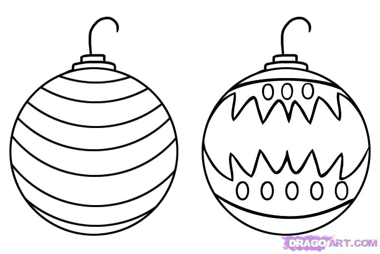 767x514 How To Draw And Decorate A Christmas Tree How To Draw A Tree Step