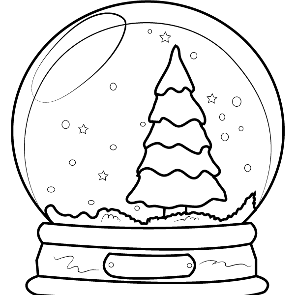 602x600 Christmas Pics To Draw Coloring Page
