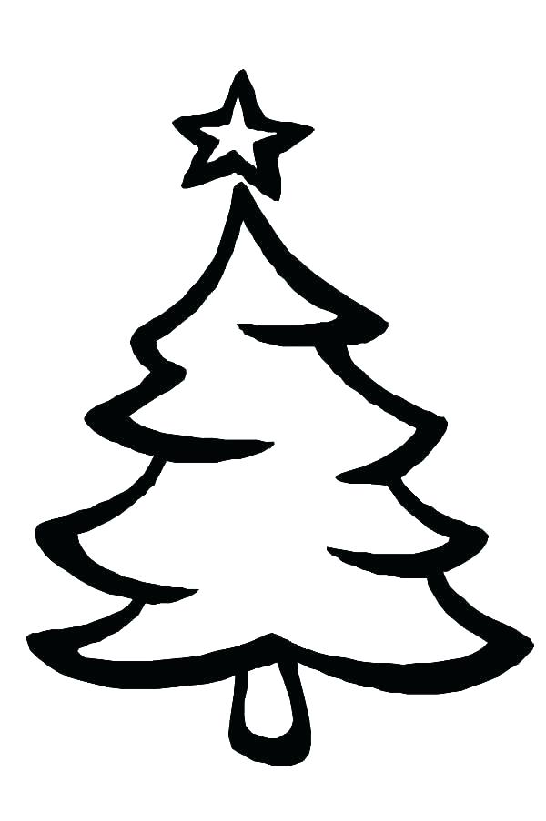 600x903 drawing a christmas tree color the tree drawing christmas tree