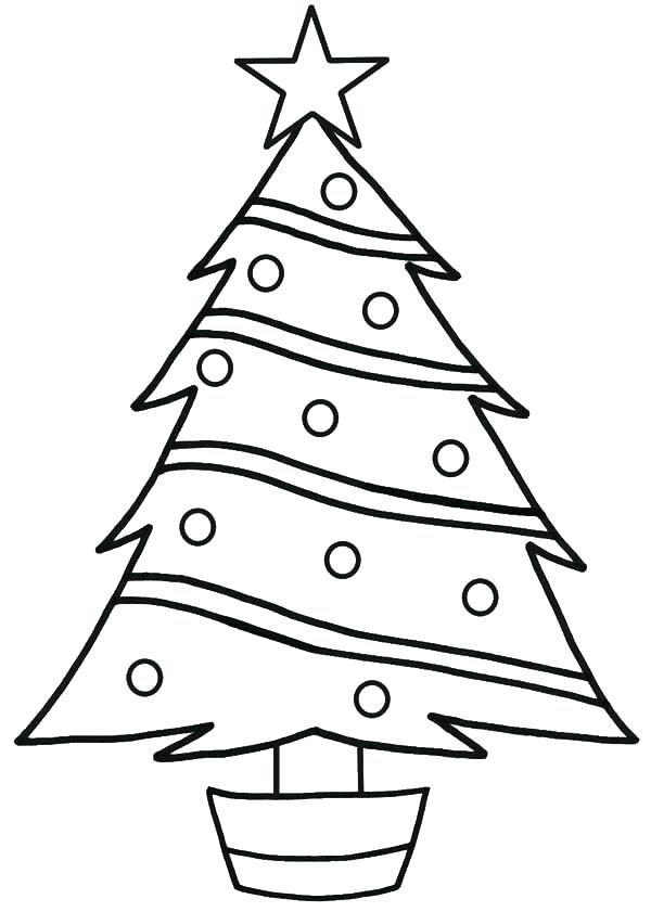 600x841 Coloring Pages Christmas Tree Coloring Pictures Pages Printable