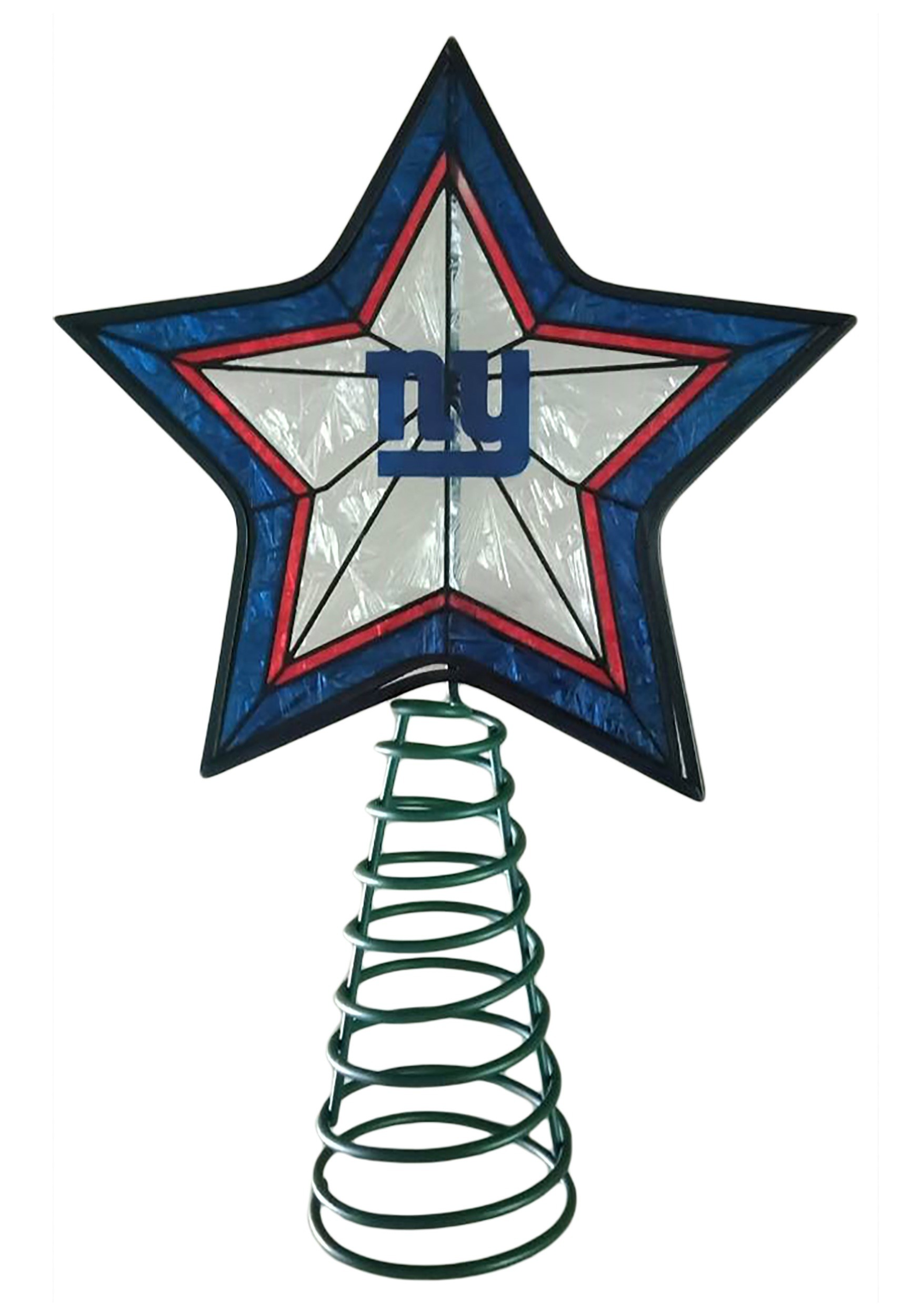 1750x2500 New York Giants Star Topper For Christmas Tree