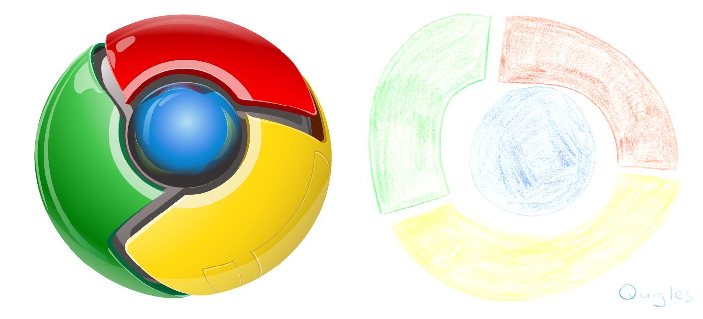 1416x644 Downloads Drawing The Google Chrome Logo