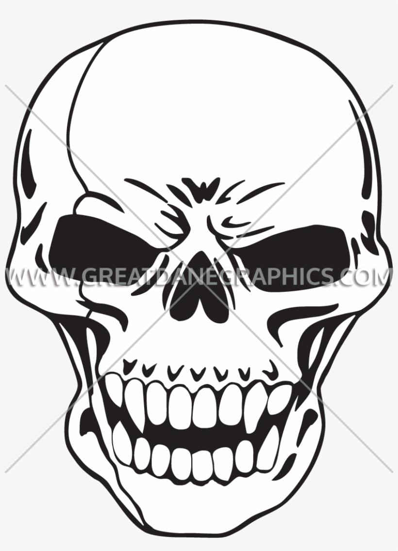 820x1135 Chrome Skull