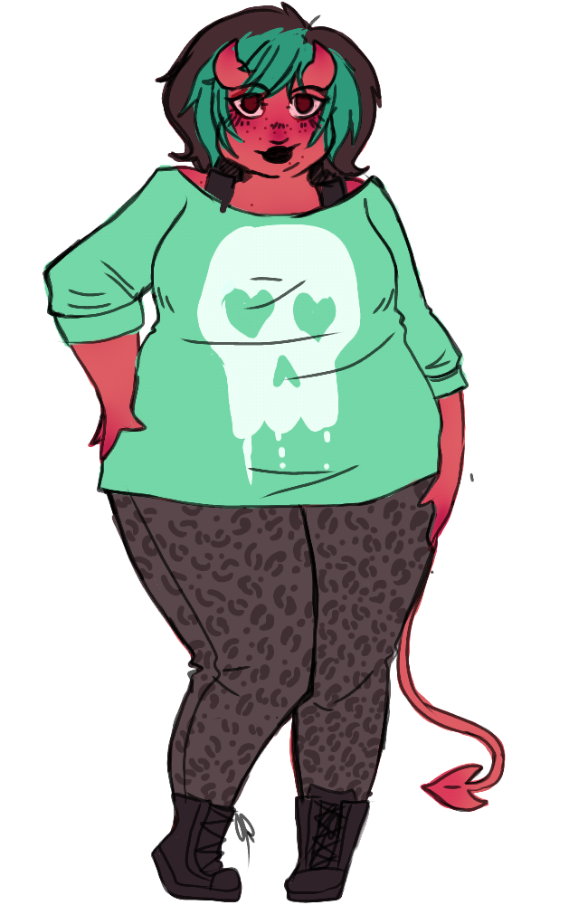 650x1000 fat character design tumblr chubby girl character design