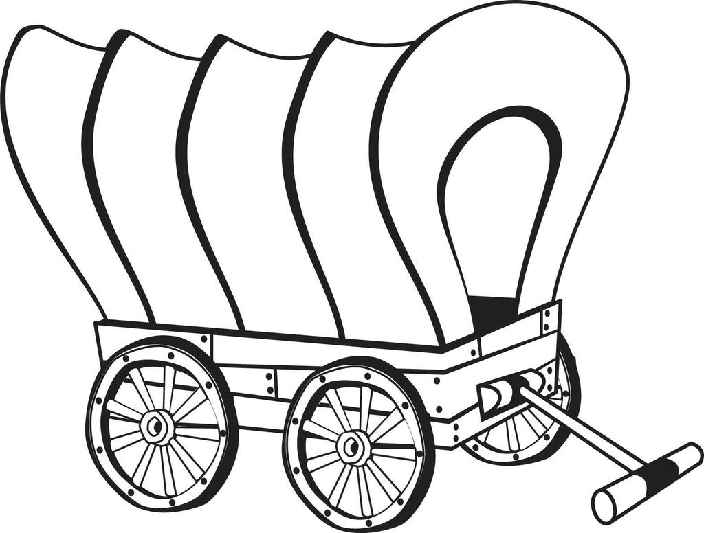 coloring pages old schoolhouse | Chuck Wagon Drawing | Free download best Chuck Wagon ...