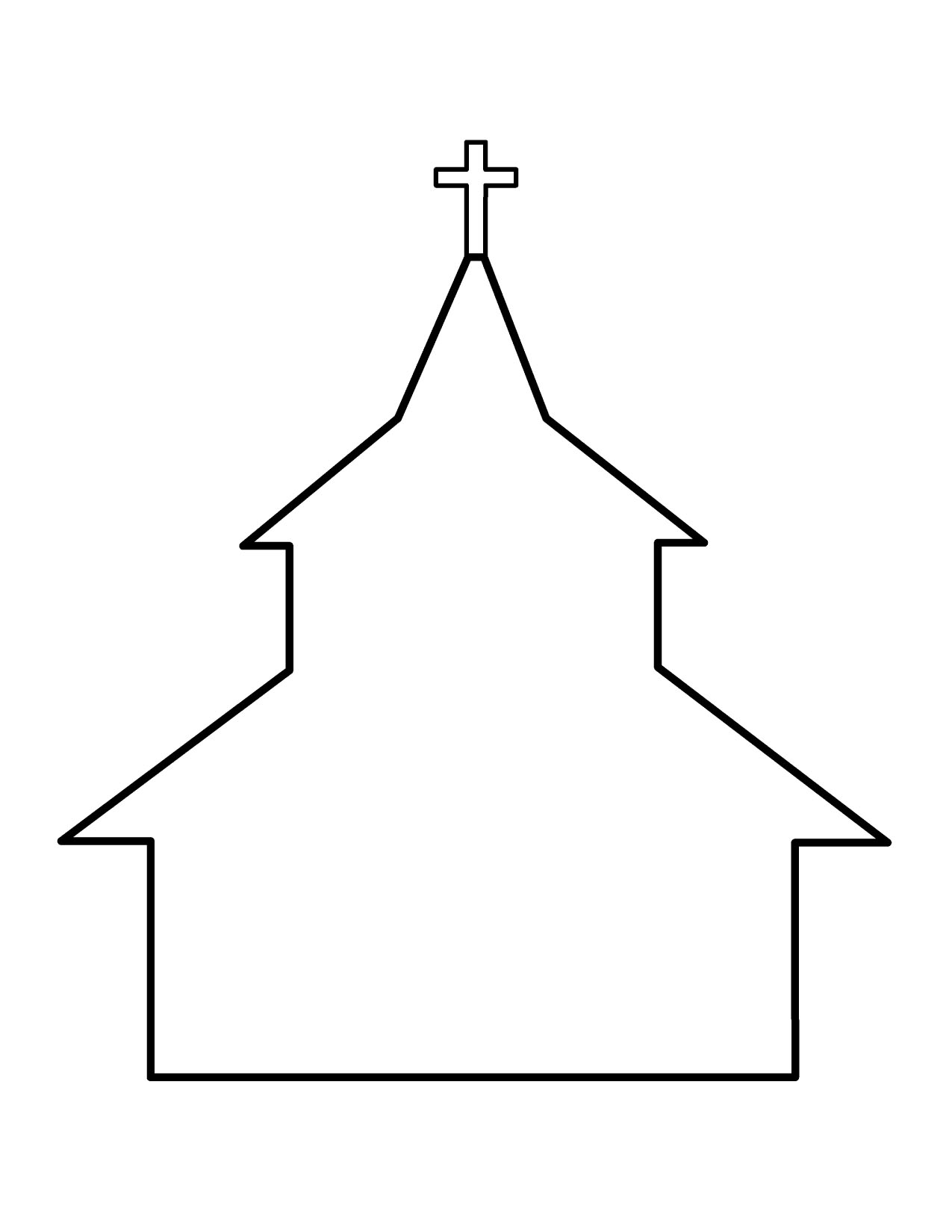 1275x1650 Corel Draw Free Church Building Clipart Clip Art Images