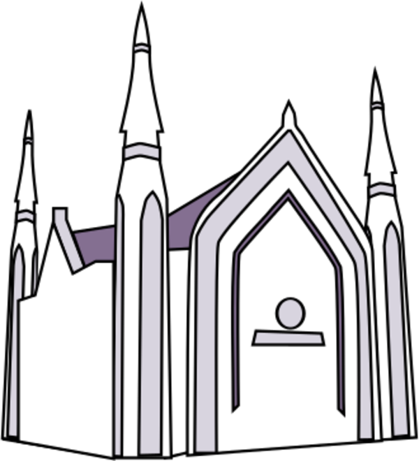 600x660 Hd Steeple Clipart Inc Church
