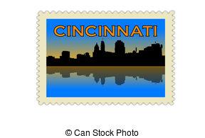288x195 Cincinnati Skyline Clipart And Stock Illustrations Cincinnati