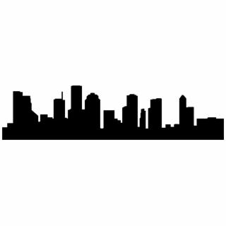 320x320 Hd Columbus Skyline Decal