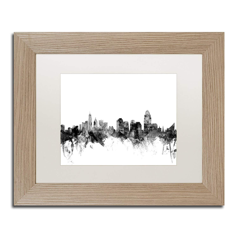 1500x1500 Trademark Fine Art Cincinnati Ohio Skyline Bampw