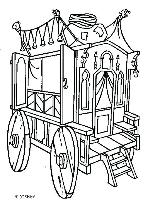 601x850 carriage coloring pages horse drawn carriage coloring pages
