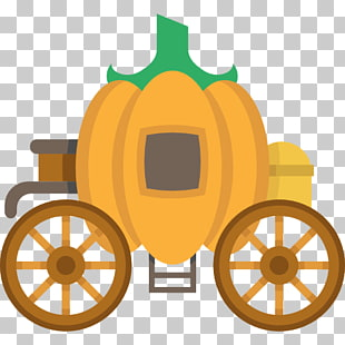 Cinderella Pumpkin Carriage Drawing
