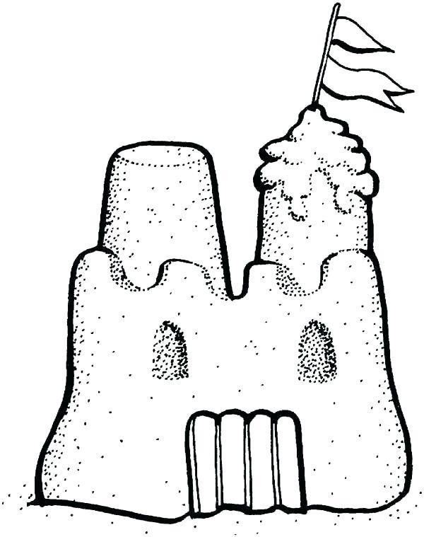 600x759 castle pictures to color castle coloring pages castle rock