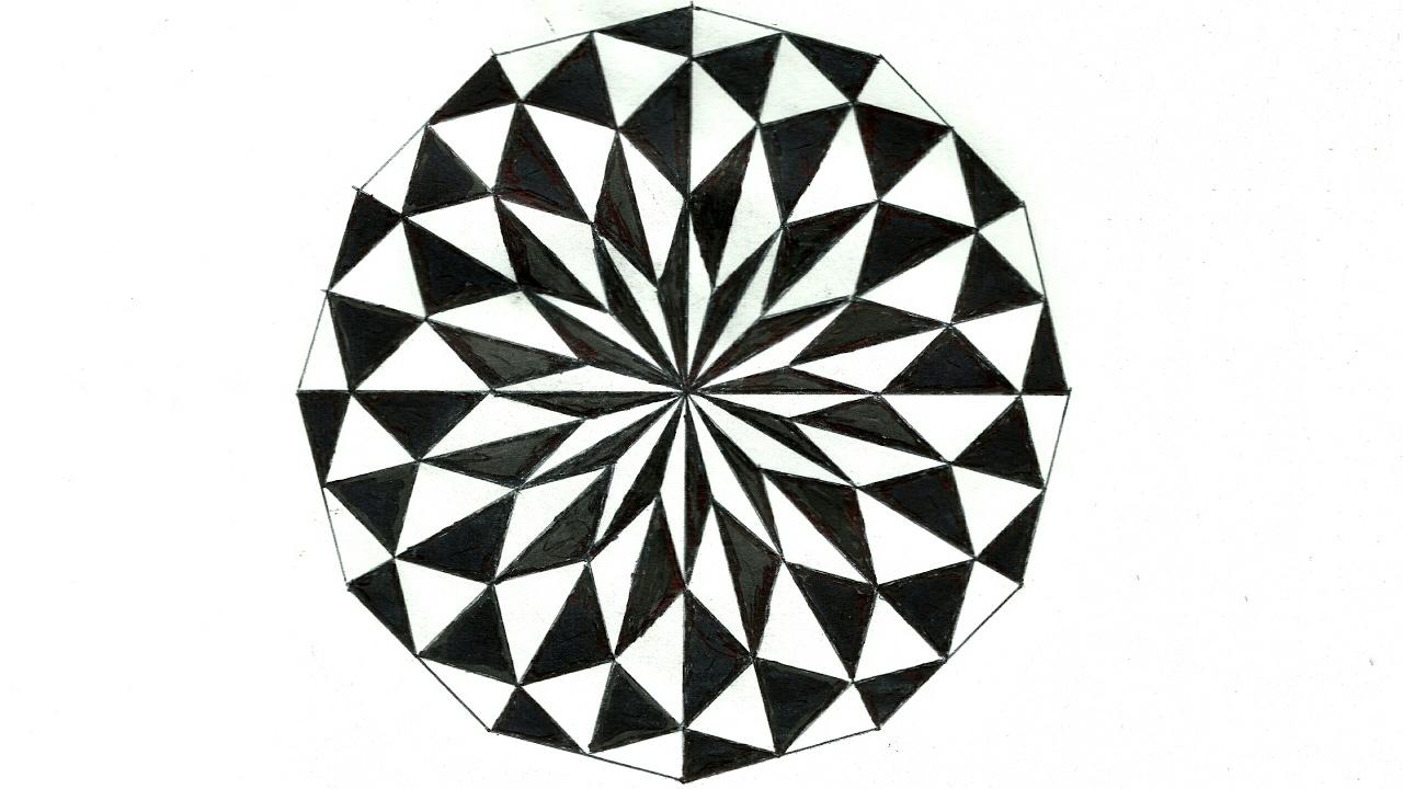 Circle Design Drawing