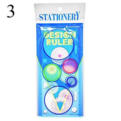 466x466 buy function ruler cute plastic spirograph ruler colored geometric