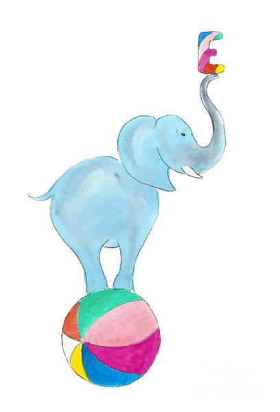 408x600 Circus Elephant Drawings Fine Art America