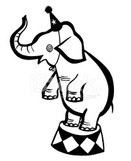 191x235 Circus Elephant Stock Photos