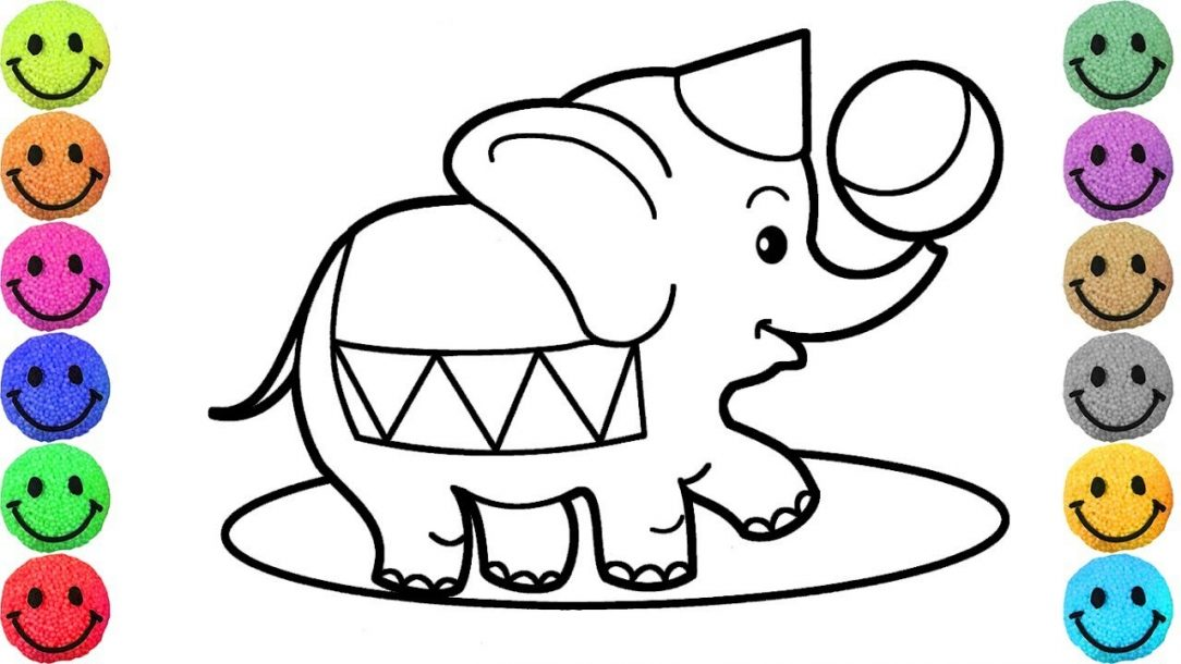 1084x610 Circus Lion Cartoon Coloring Pages Tent Horse Pdf Acrobats Train