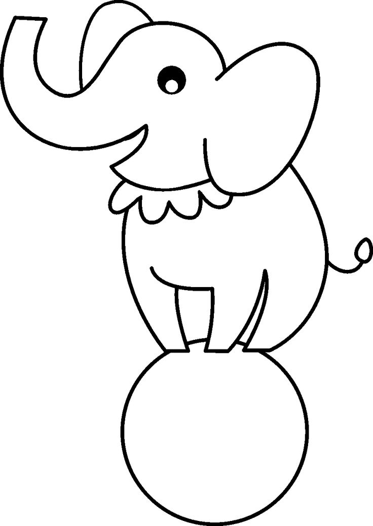 736x1037 Circus Drawing Simple For Free Download