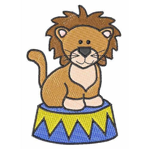500x500 Circus Lion