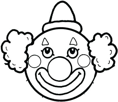 405x350 Coloring Clown Pages Clowns
