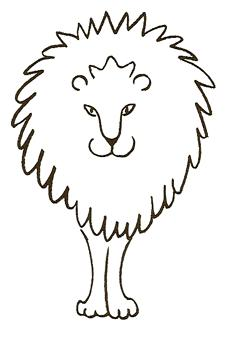 227x349 How To Draw Lions Drawing Tutorials Drawing How To Draw Lion