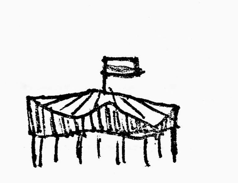 770x592 Circus Tent Drawing