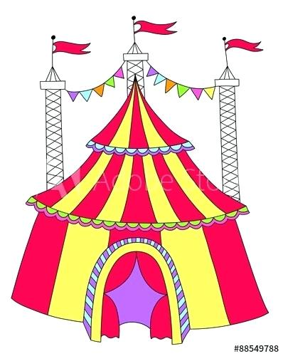 398x500 drawing of a circus circus clowns circus tent drawing easy