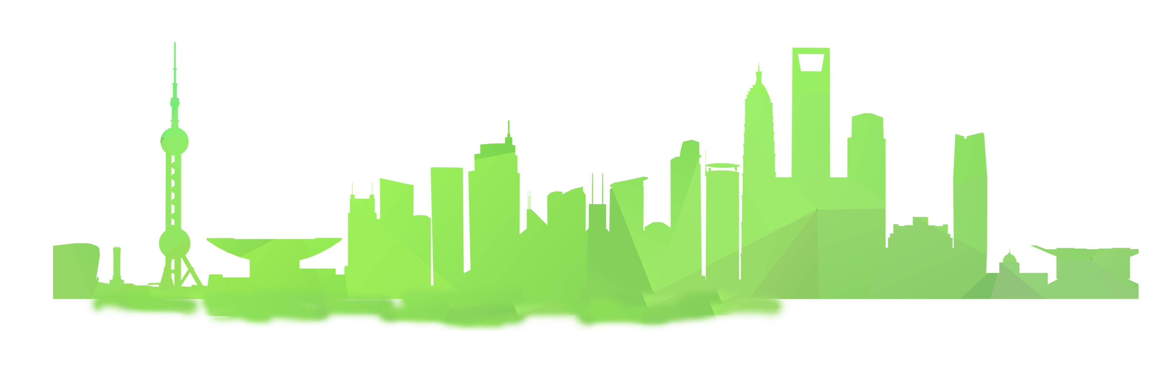 3708x1188 Atlanta Drawing Skyline Chicago Transparent Png Clipart Free