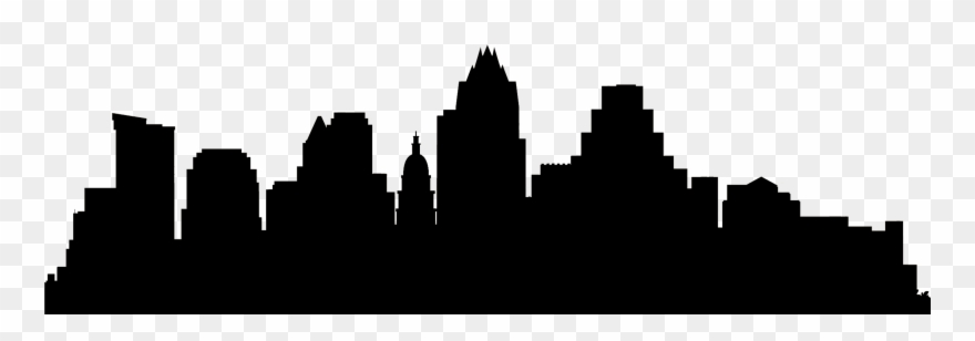 880x308 Huge Collection Of 'austin Skyline Drawing' Download More Than