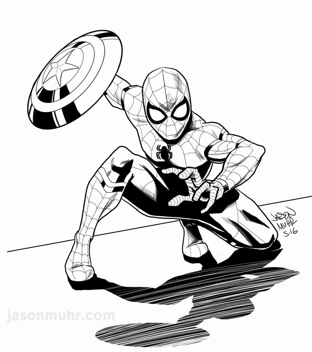 1000x1129 spider man sketch luxury how to draw spider man full body