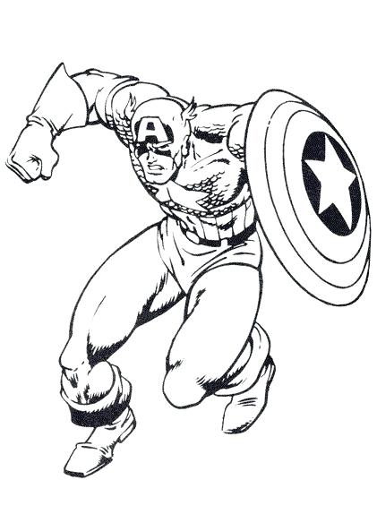 421x574 captain america coloring picture captain the winter soldier